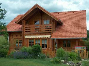 Blockbau; Holzhaus